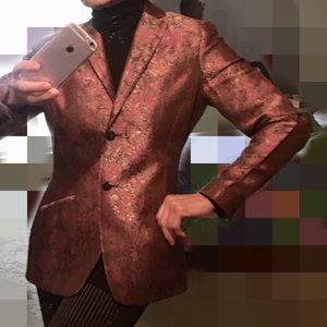 Oscar de la Renta brocade jacket